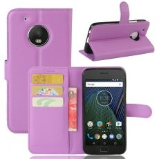 Luurinetti Moto G5 Plus suojalaukku purple