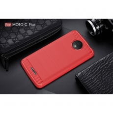 Luurinetti Moto C Plus TPU-suojakotelo red
