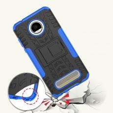 Luurinetti Moto Z2 Play suojakuori tuella blue