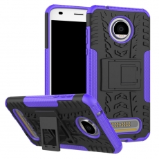 Luurinetti Moto Z2 Play suojakuori tuella purple