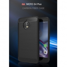Luurinetti Moto E4 Plus TPU-suojakotelo black