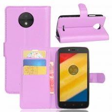 Luurinetti Moto C Plus suojalaukku purple
