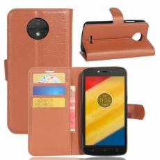 Luurinetti Moto C Plus suojalaukku brown