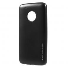 Goospery Moto G5 Plus TPU-suojakotelo black