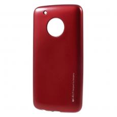 Goospery Moto G5 Plus TPU-suojakotelo red