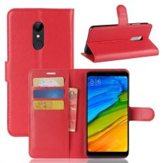 Luurinetti Flip Wallet Xiaomi Redmi 5 red