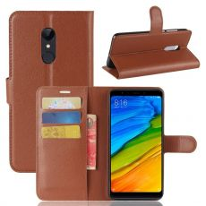 Luurinetti Flip Wallet Xiaomi Redmi 5 brown