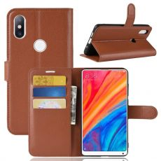 Luurinetti Flip Wallet Xiaomi Mi Mix 2S brown