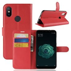 Luurinetti Flip Wallet Xiaomi Mi A2 red