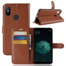 Luurinetti Flip Wallet Xiaomi Mi A2 brown