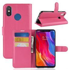 Luurinetti Flip Wallet Xiaomi Mi 8 rose