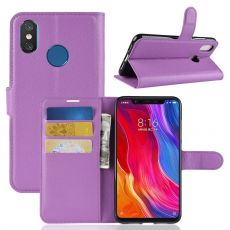 Luurinetti Flip Wallet Xiaomi Mi 8 purple