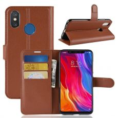Luurinetti Flip Wallet Xiaomi Mi 8 brown