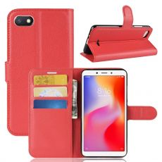 Luurinetti Flip Wallet Xiaomi Redmi 6A red