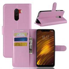 Luurinetti Flip Wallet Pocophone F1 pink
