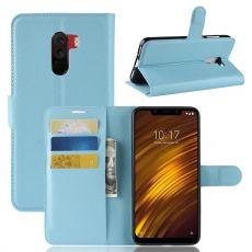 Luurinetti Flip Wallet Pocophone F1 blue
