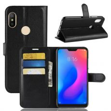 Luurinetti Flip Wallet Redmi Note 6 Pro black