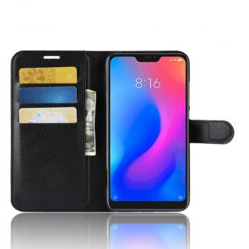 Luurinetti Flip Wallet Redmi Note 6 Pro black