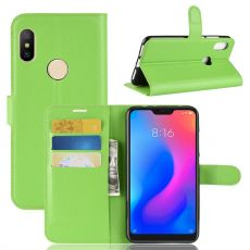 Luurinetti Flip Wallet Redmi Note 6 Pro green