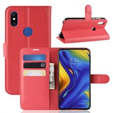 Luurinetti Flip Wallet Mi Mix 3 red