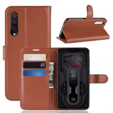 Luurinetti Flip Wallet Xiaomi Mi 9 Brown