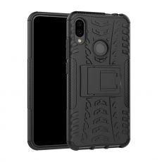 LN suojakuori tuella Xiaomi Redmi Note 7 Black