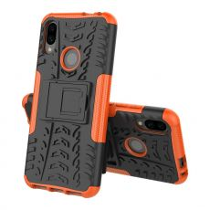 LN suojakuori tuella Xiaomi Redmi Note 7 Orange