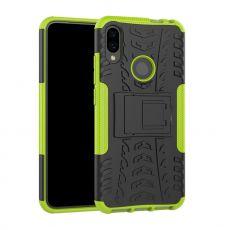 LN suojakuori tuella Xiaomi Redmi Note 7 Green