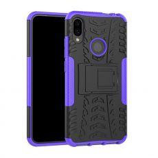 LN suojakuori tuella Xiaomi Redmi Note 7 Purple