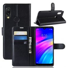 Luurinetti Flip Wallet Xiaomi Redmi 7 Black