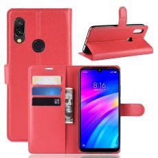 Luurinetti Flip Wallet Xiaomi Redmi 7 Red