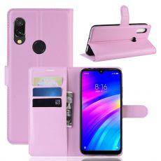 Luurinetti Flip Wallet Xiaomi Redmi 7 Pink