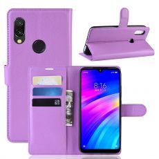 Luurinetti Flip Wallet Xiaomi Redmi 7 Purple