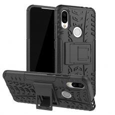Luurinetti suojakuori tuella Xiaomi Redmi 7 Black