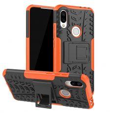 Luurinetti suojakuori tuella Xiaomi Redmi 7 Orange