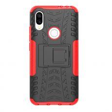 Luurinetti suojakuori tuella Xiaomi Redmi 7 Red