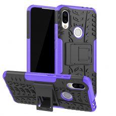 Luurinetti suojakuori tuella Xiaomi Redmi 7 Purple