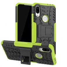Luurinetti suojakuori tuella Xiaomi Redmi 7 Green