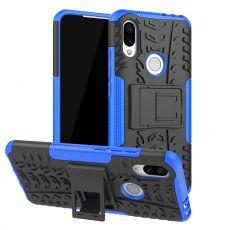 Luurinetti suojakuori tuella Xiaomi Redmi 7 Blue