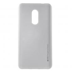 Goospery Redmi Note 4 TPU-suoja silver