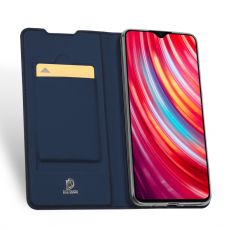 Dux Ducis Business-kotelo Redmi Note 8 Pro blue