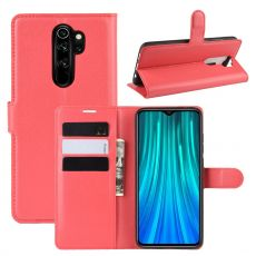 LN Flip Wallet Redmi Note 8 Pro Red