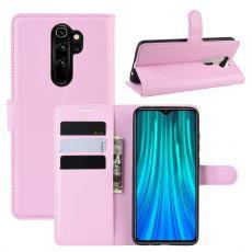 LN Flip Wallet Redmi Note 8 Pro Pink