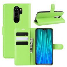 LN Flip Wallet Redmi Note 8 Pro Green