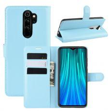 LN Flip Wallet Redmi Note 8 Pro Blue
