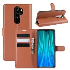 LN Flip Wallet Redmi Note 8 Pro Brown