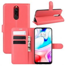 LN Flip Wallet Xiaomi Redmi 8 red