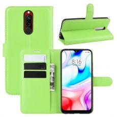 LN Flip Wallet Xiaomi Redmi 8 green