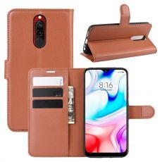 LN Flip Wallet Xiaomi Redmi 8 brown