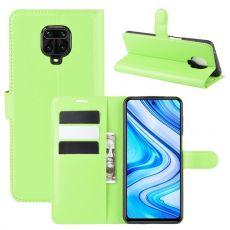 LN Flip Wallet Xiaomi Redmi Note 9 Pro Green